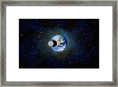 Solar Eclipse Framed Print by Bruce Iorio