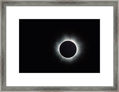 Solar Eclipse Framed Print by Tier Und Naturfotografie J und C Sohns
