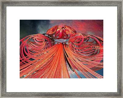 Solar Flare Framed Print by Michael Durst