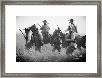 Soldiers Framed Print by Kim Henderson