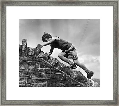 Sole Heir Framed Print by Thurston Hopkins