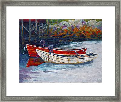 Solid Foundation Framed Print by Marion Rose