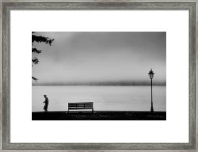 Solitary Man Framed Print by Steven Ainsworth