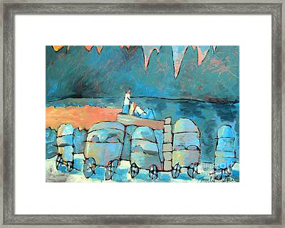 Some Enchanted Evening Framed Print by Charlie Spear