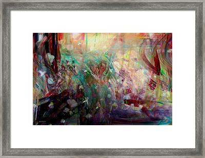 Something Beautiful Framed Print by Linda Sannuti