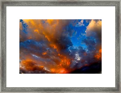 Something Wicca This Way Comes Framed Print by Alexander Martinez