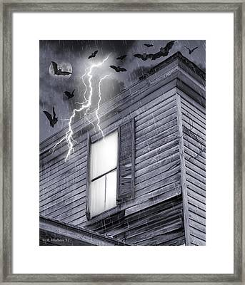 Something Wicked Framed Print by Brian Wallace