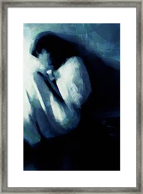 Sometimes We See No Way Out Framed Print by Gun Legler
