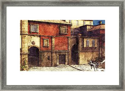 Somewhere In The South Framed Print by Jutta Maria Pusl