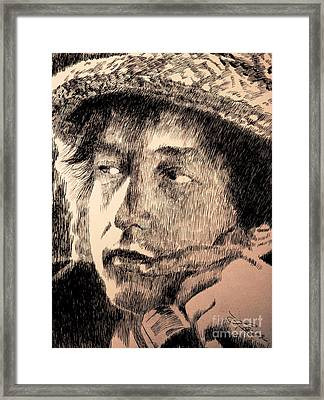 Song And Dance Man Framed Print by Robbi  Musser