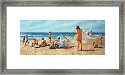Song For Gauguin Framed Print by Laurie Stewart