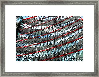 Sony Center - Berlin Framed Print by Juergen Weiss
