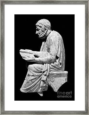 Sophocles (c496-406 B.c.) Framed Print by Granger