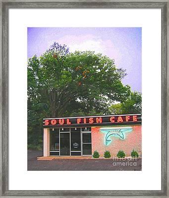 Soul Fish Framed Print by Lizi Beard-Ward