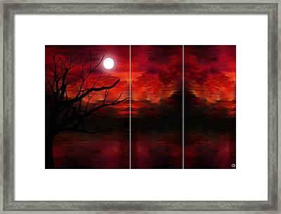 Soul Observer Framed Print by Lourry Legarde