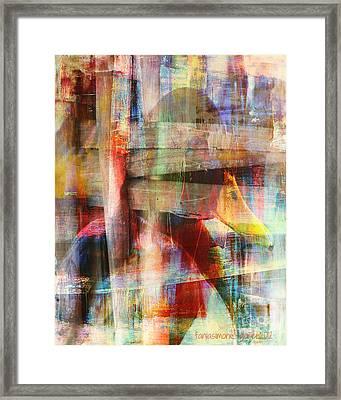 Soul Of A Bird Framed Print by Fania Simon