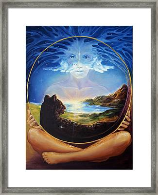Soul Of Creation Framed Print by Ann Beeching