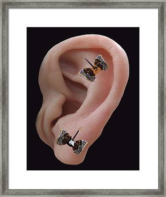 Sound Blaster Rocks Framed Print by Eric Kempson