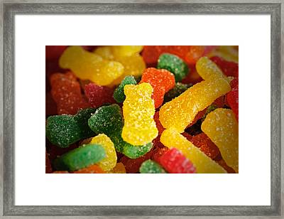 Sour Bears Framed Print by Rick Berk