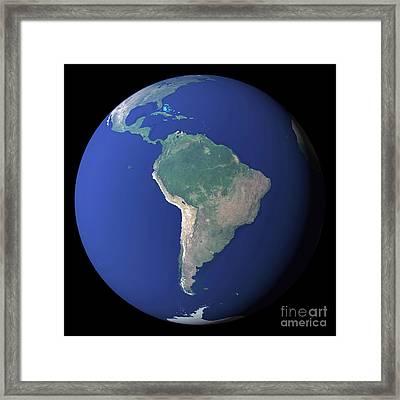South America Framed Print by Stocktrek Images