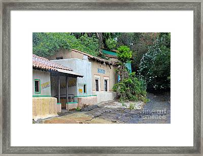 South American Village Framed Print by Sophie Vigneault