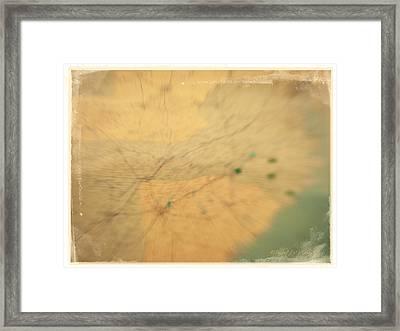 Southeast Us Framed Print by Paulette B Wright