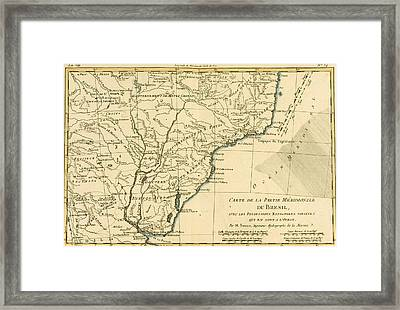 Southern Brazil Framed Print by Guillaume Raynal