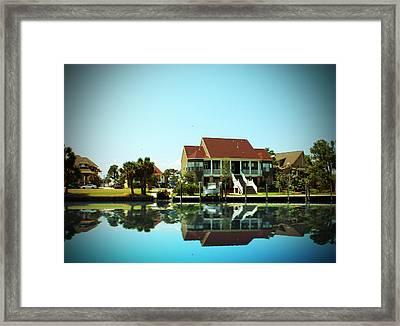 Southern Living Framed Print by Barry Jones