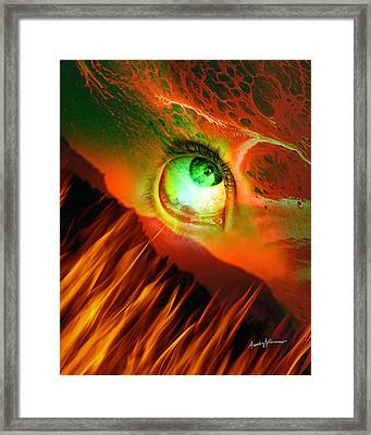 Southside Of Purgatory Framed Print by Anthony Caruso