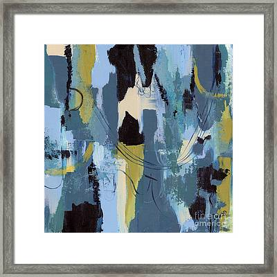 Spa Abstract 1 Framed Print by Debbie DeWitt