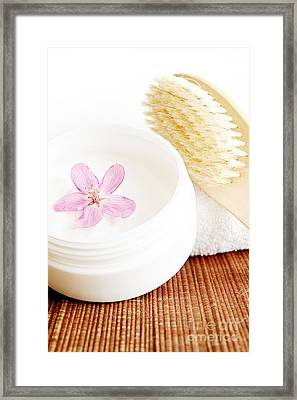 Spa Still Life Framed Print by HD Connelly