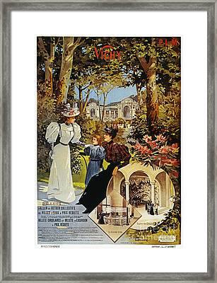 Spa: Vichy, France, 1890s Framed Print by Granger