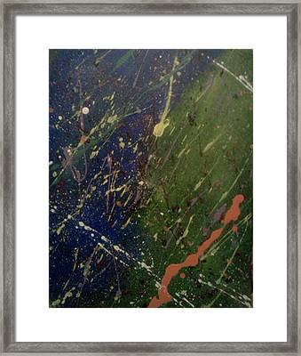 Space Framed Print by James Adger