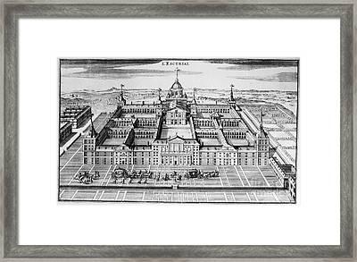 Spain: El Escorial Framed Print by Granger