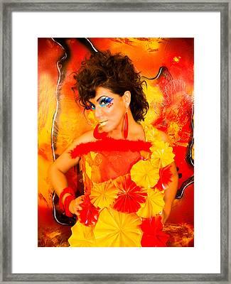 Spaniard Framed Print by Artista Elisabet