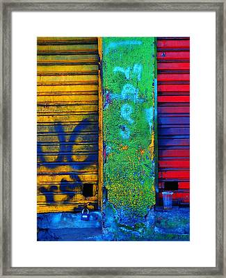 Spare A Spill Framed Print by Skip Hunt