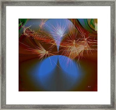 Sparkled Framed Print by Jan Steadman-Jackson