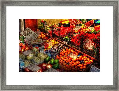 Specials Framed Print by Barry R Jones Jr