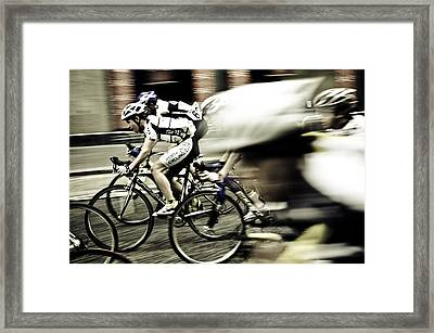 Speed Framed Print by Martin Holt