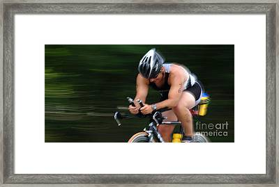 Bicycle Speed Trap Framed Print by Bob Christopher