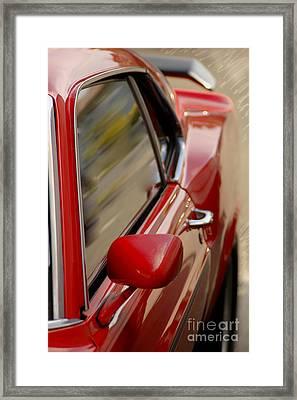 Speed Framed Print by Vicki Ferrari