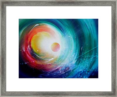 Sphere F31 Framed Print by Drazen Pavlovic