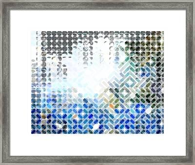 Spheremaze Framed Print by Mark Einhorn