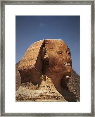 Sphinx Petra Framed Print by Nafets Nuarb