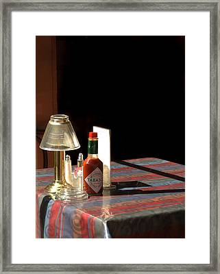 Spice Of Life Framed Print by Greg and Chrystal Mimbs