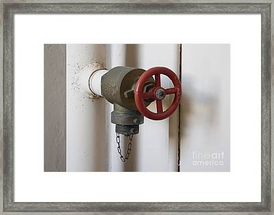 Spigot Framed Print by Blink Images