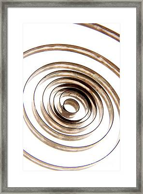 Spiral Framed Print by Bernard Jaubert