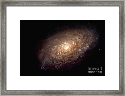 Spiral Galaxy Framed Print by Nasa