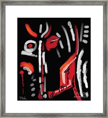 Spirit Of The Night Framed Print by Barbara Drake