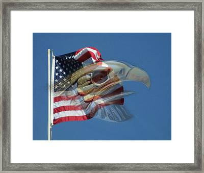 Spirit Of The Screaming Eagles Framed Print by Kevin Caudill
